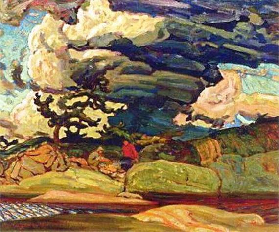 James Edward Hervey MacDonald - The Elements, 1916