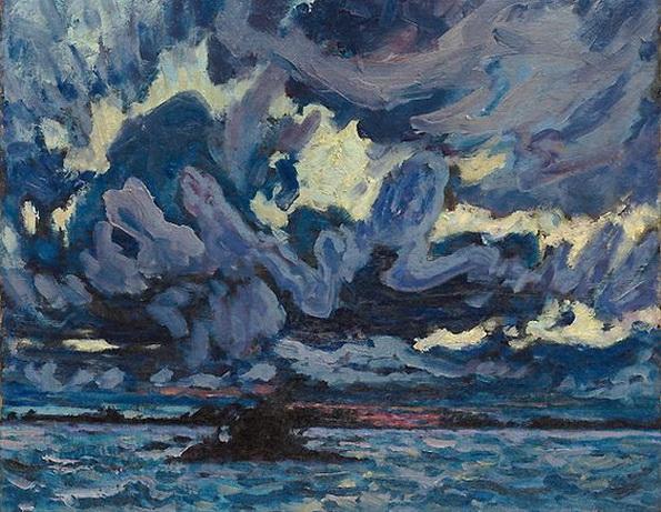 James Edward Hervey MacDonald - Wind Clouds