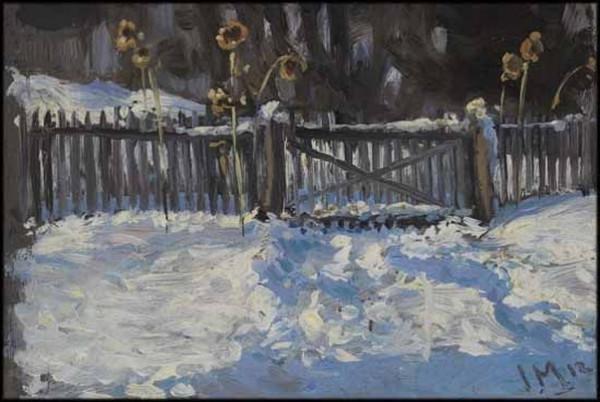 James Edward Hervey MacDonald - Winter Study