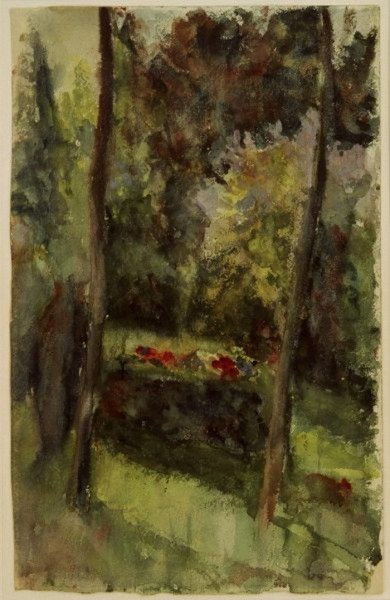 Paula Modersohn-Becker -  Garten