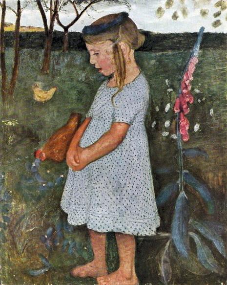 Paula Modersohn-Becker -  elsbeth