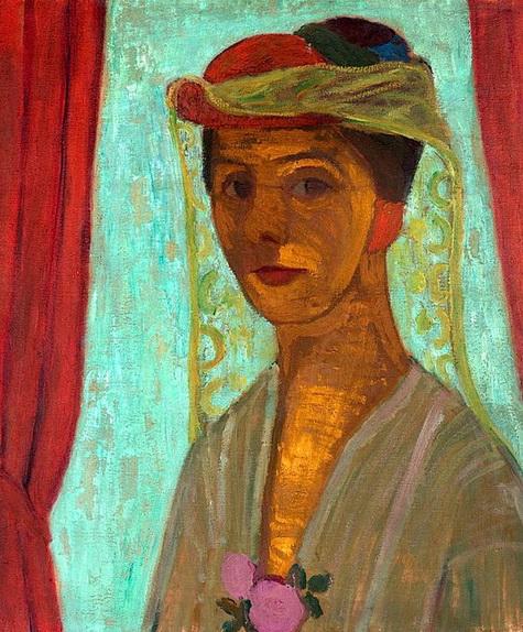 Paula Modersohn-Becker - Self-portrait with hat