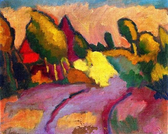 Alexei Jawlensky - Landscape