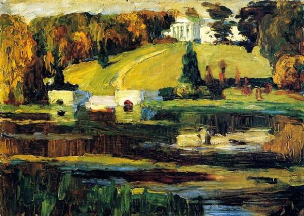 Wassily Kandinsky -   Autumn, 1901
