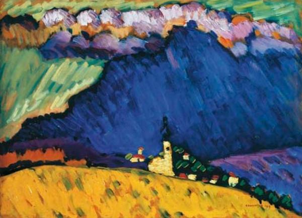 Wassily Kandinsky -  Dunaberg