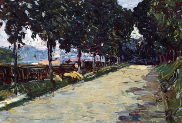Wassily Kandinsky -  Park of St. Cloud, 1906