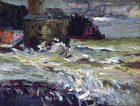 Wassily Kandinsky -  Stormy Day
