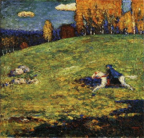 Wassily Kandinsky -  The Blue Rider