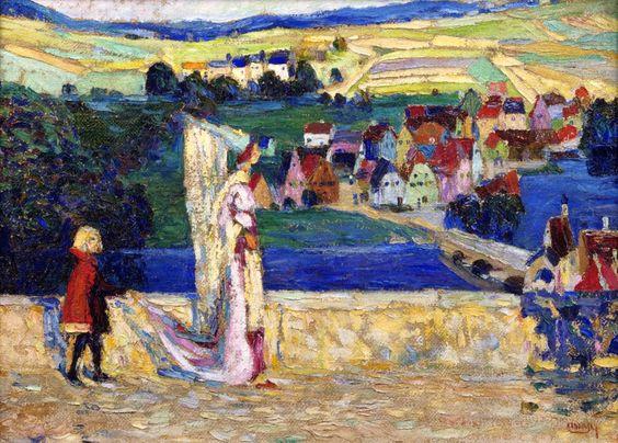 Wassily Kandinsky - Promenade