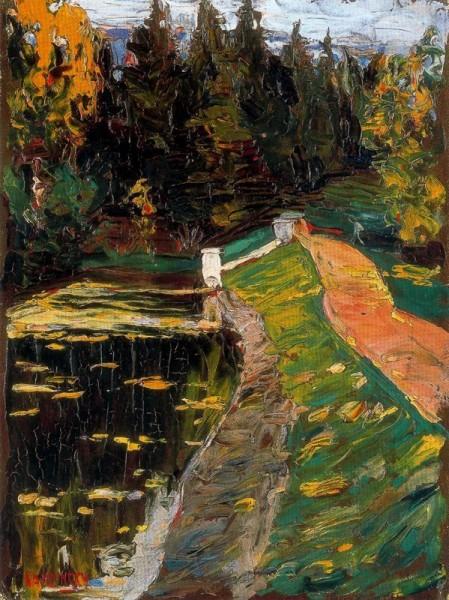 Wassily Kandinsky - Study for sluice