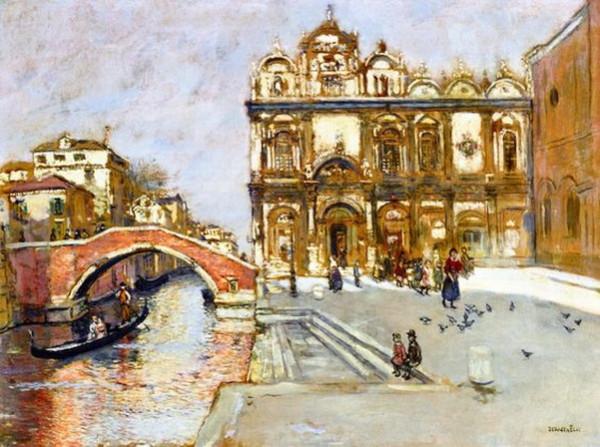 Jean-Francois Raffaelli -  Venise