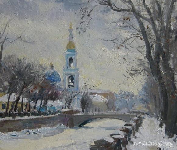 Калинин Алексей  Крюков канал