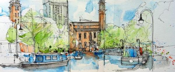Simone Ridyard - Castlefield, Manchester