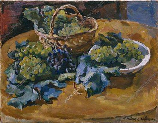 Pyotr Konchalovsky - Натюрморт. Виноград