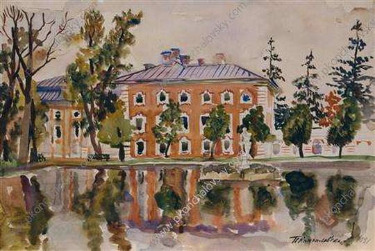 Pyotr Konchalovsky - Петергофский дворец