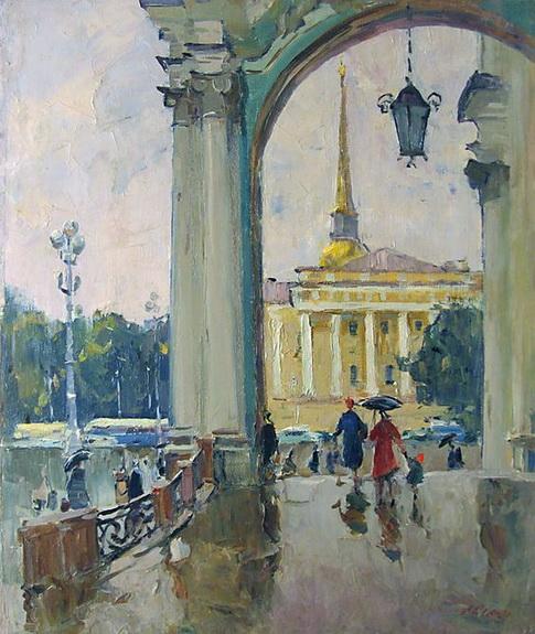 Семенов -  At the Palace Square