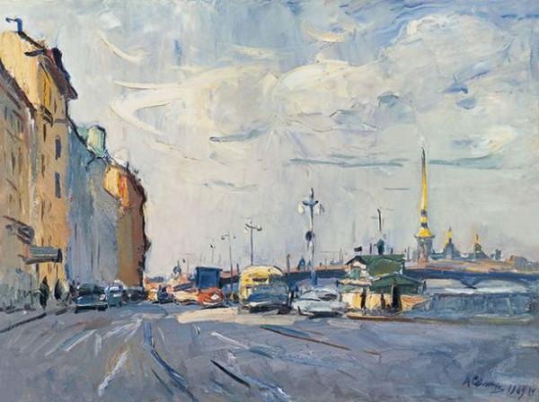Семенов  - Ленинград. Утро.