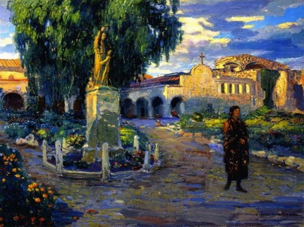 Joseph Kleitsch - Evening Shadows