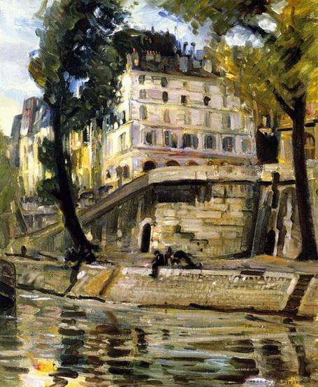 Joseph Kleitsch - Paris