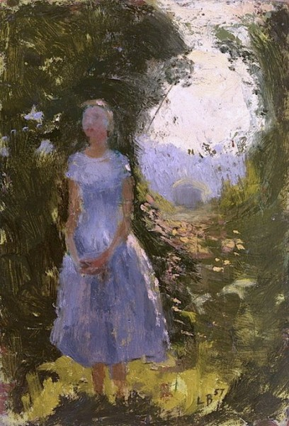 Lionel Bulmer - Woman in the Woods