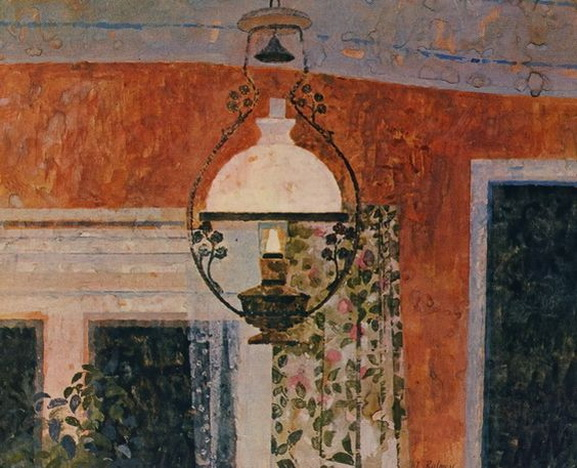 Lionel Bulmer -  The Lamp, Shelland