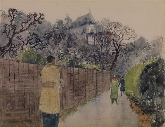Lionel Bulmer - The Green Coat.Pen