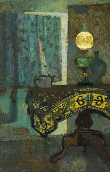 Lionel Bulmer - The Green Lamp