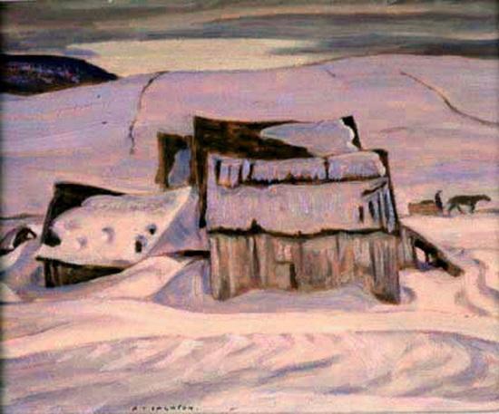 Alexander Young Jackson - Quebec Landscape