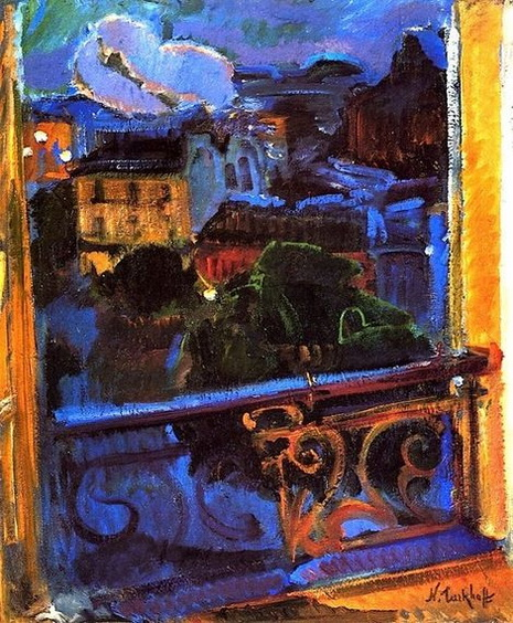 Nicolas Tarkhoff -  Montparnasse at Night
