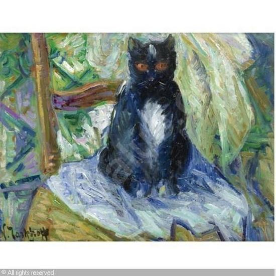 Nicolas Tarkhoff - Black Cat