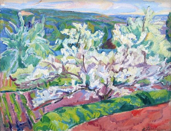 Nicolas Tarkhoff - Тархов Н.А. Деревья в цвету.