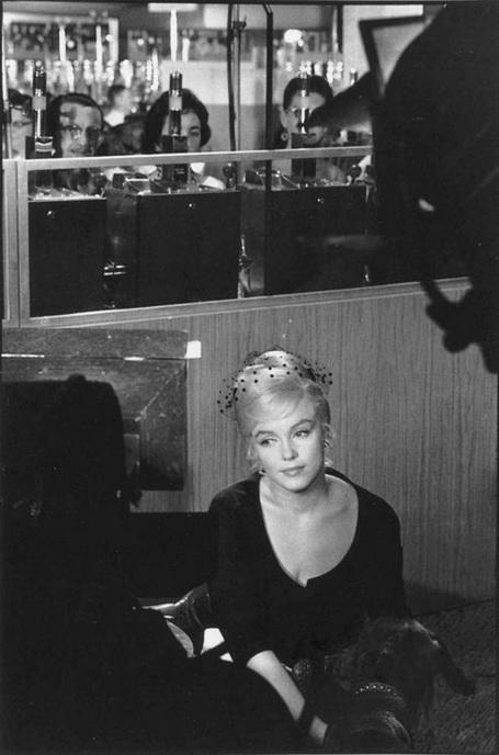 Henri Cartier-Bresson - Marilyn in Reno, 1961