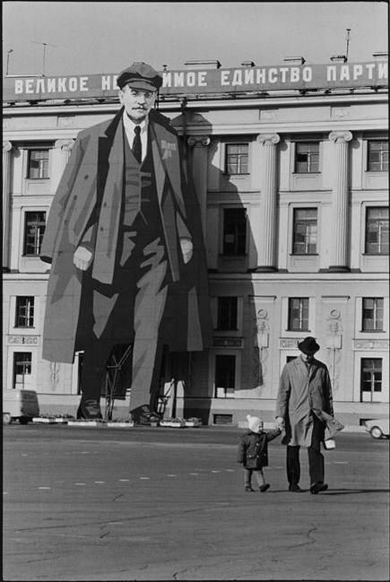 Henri Cartier-Bresson -  Leningrad, USSR 2