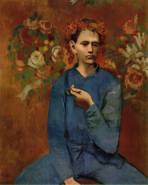 Pablo Picasso - boy with pipe