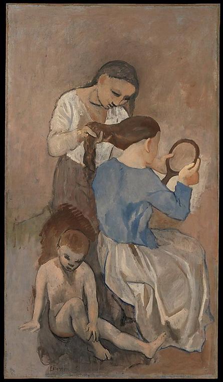 Pablo Picasso - La Coiffure