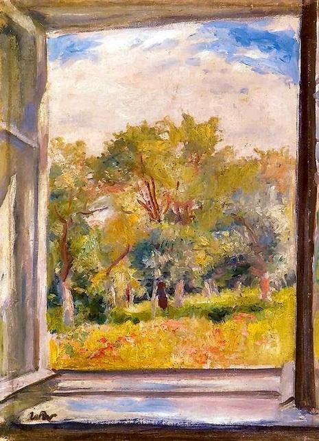 Wojciech Weiss - A View from the Window