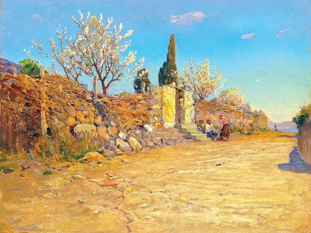Васильковский Сергей - Южный пейзаж (Крым)
