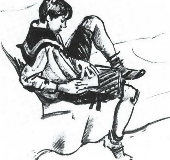 Добужинский - Мальчик