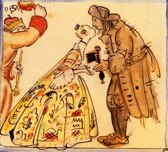 Добужинский - Принцесса и свинопас