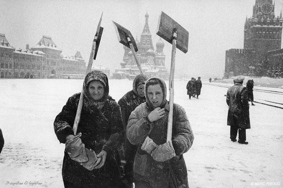 Marc Riboud - Moscú 1961