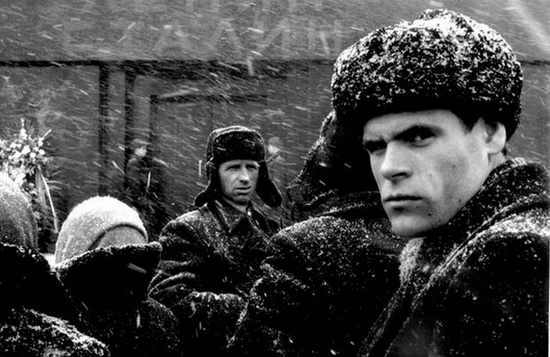 Marc Riboud - the face of Russia