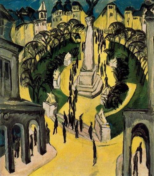 Ernst Ludwig Kirchner - Belle Alliance Placz Berlin