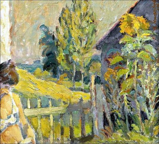 Theo Kurpershoek - In the garden of the artist