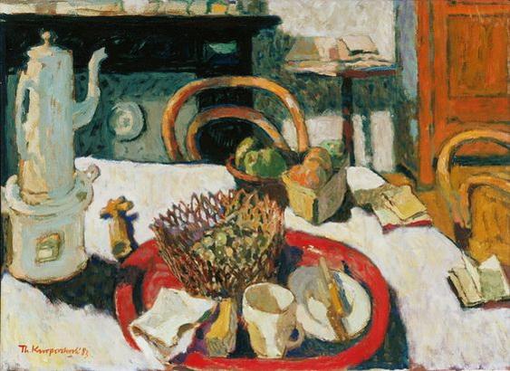 Theo Kurpershoek - Het rode dienblad
