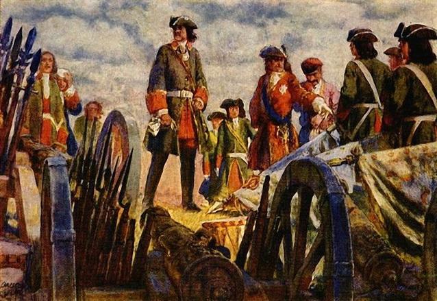 Лансере - Полтавская битва