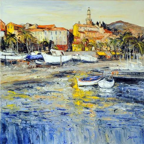 Jean Paul Surin - reflets jaunes