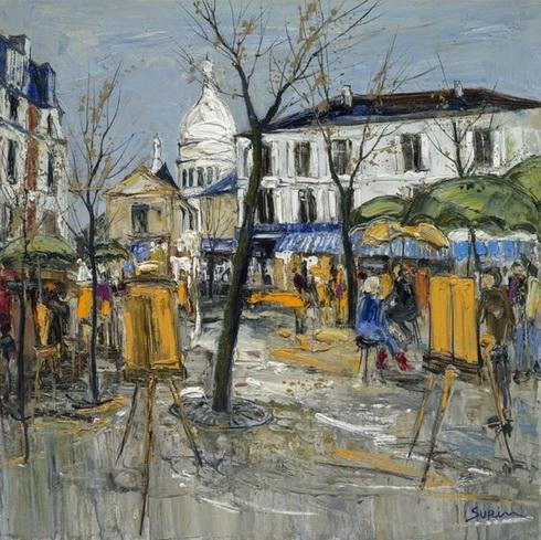 Jean Paul Surin - Place du Tertre, Paris