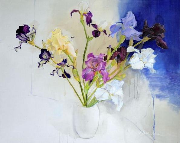 Neonilla Medvedeva - Blue FLOWERS