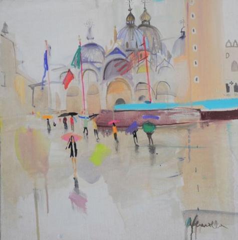 Neonilla Medvedeva - San Marko - rainy day