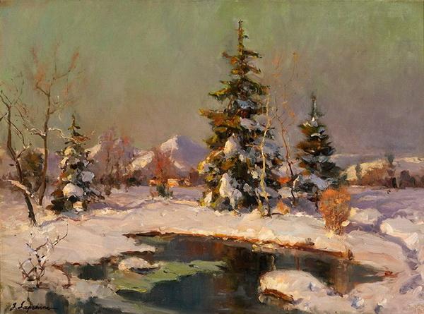 Лапшин  -  начало зимы